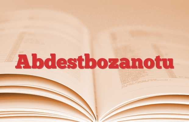 Abdestbozanotu