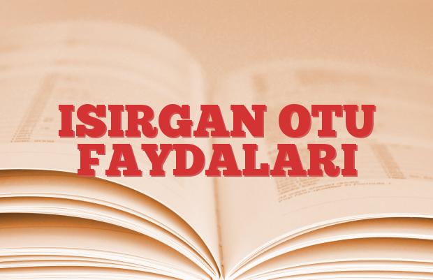 ISIRGAN OTU FAYDALARI