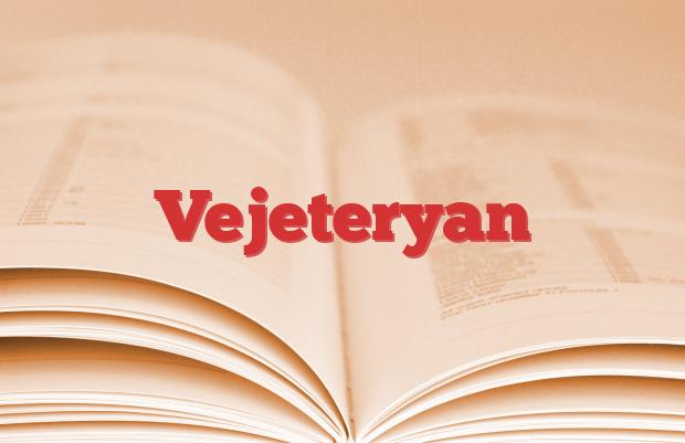 Vejeteryan