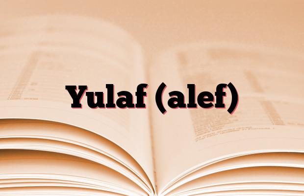 Yulaf (alef)