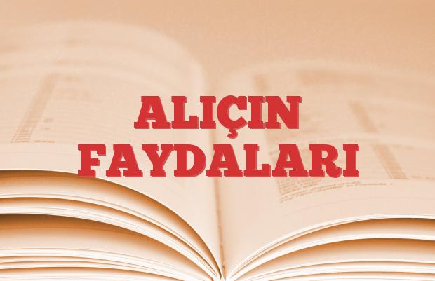 ALIÇIN FAYDALARI