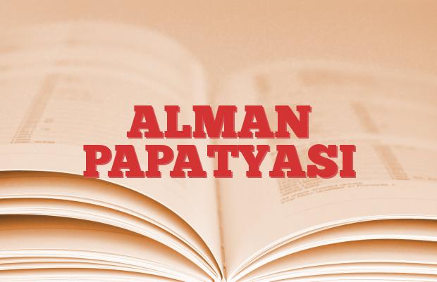 ALMAN PAPATYASI