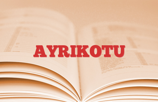 AYRIKOTU