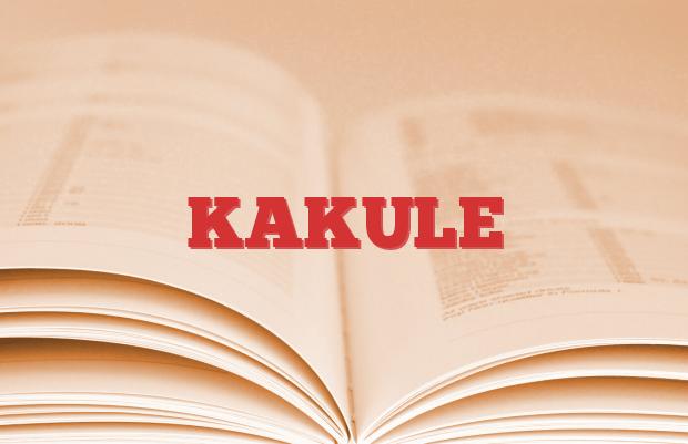 KAKULE