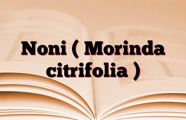 Noni ( Morinda citrifolia )