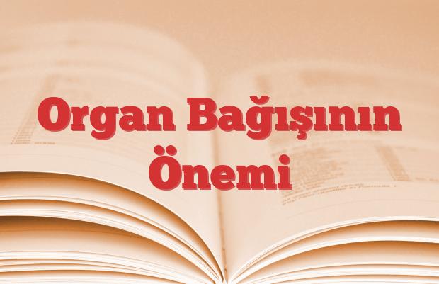 Organ Bağışının Önemi