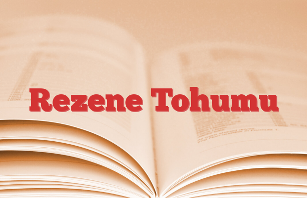 Rezene Tohumu